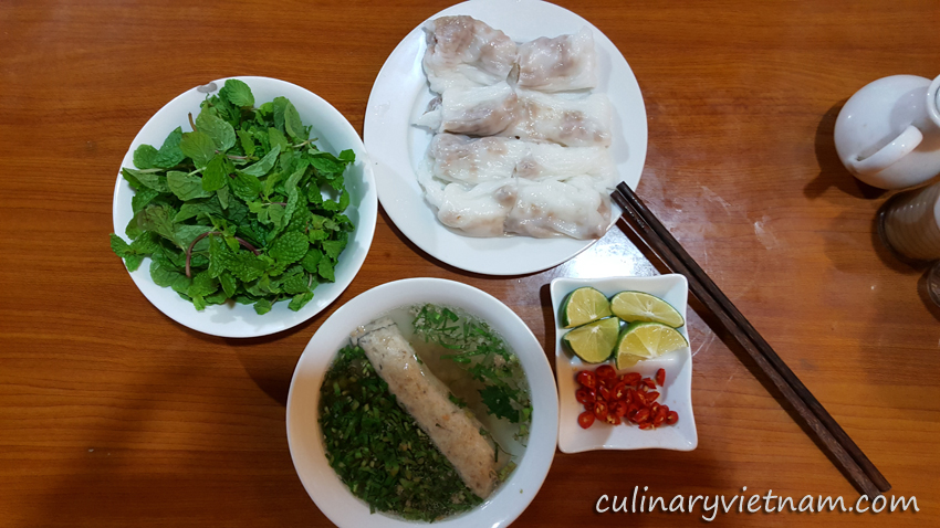 Cao Bang Rolled Cakes (Bánh Cuốn Cao Bằng)