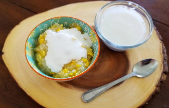 Corn pudding (Chè Bắp)