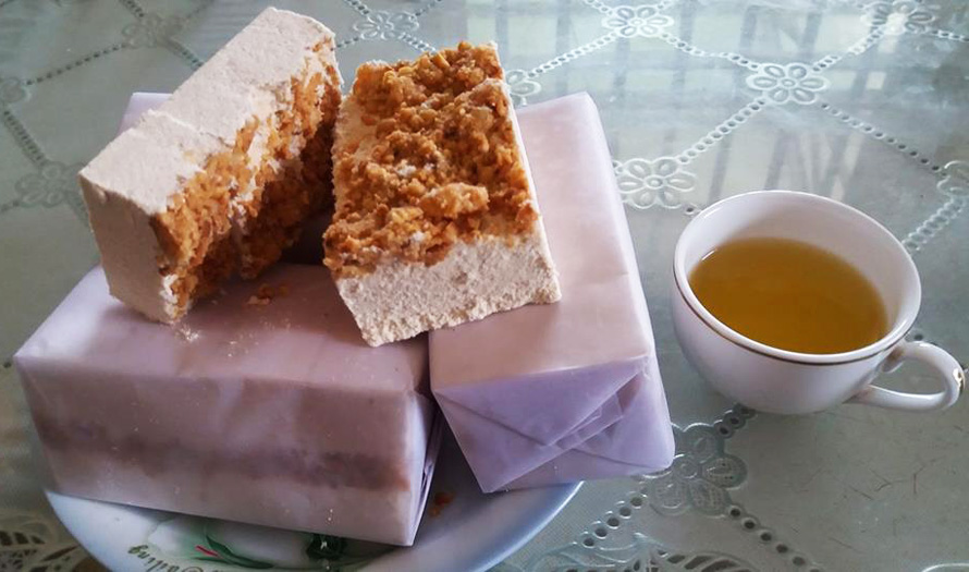 A kind of glutinous rice cake (Bánh Khảo)