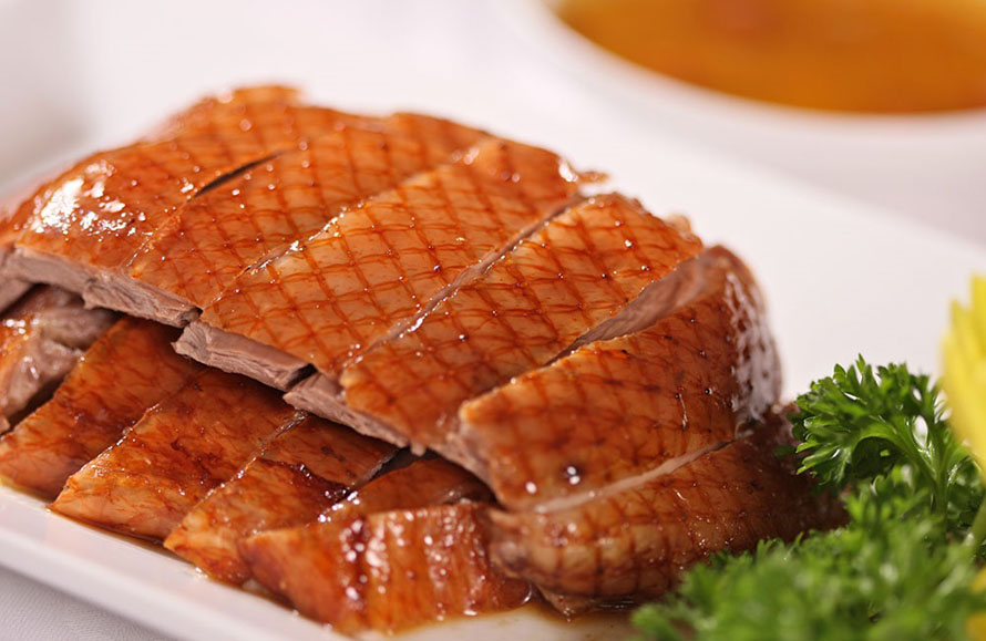 The grilled duck with 7 tastes in Cao Bang