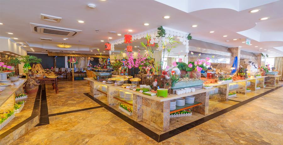 Buffet Sen Viet on the 18th-floor at Sahul Hotel