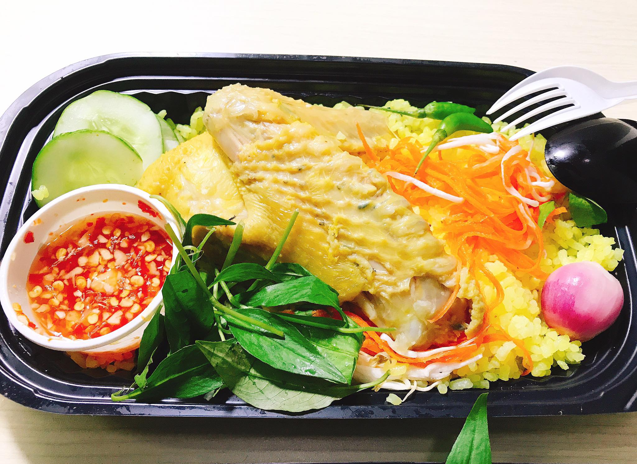 Phu Yen Chicken Rice (Com Ga) - The popular food at Phu Yen Vietnam