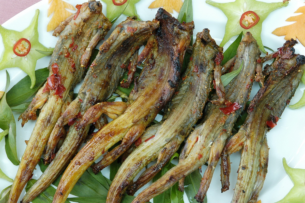 "What to eat in Phu Yen? The answer is ""Salamander meat""!"