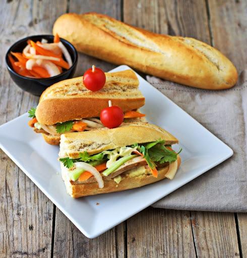 Veggie Vietnamese Sandwich (Banh Mi Chay)