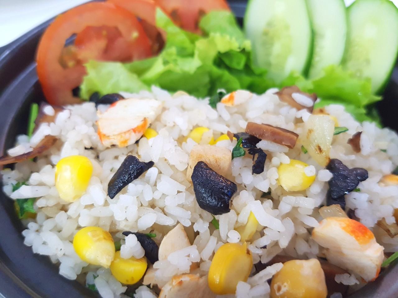 Veggie Sticky Rice (Xoi Chay)