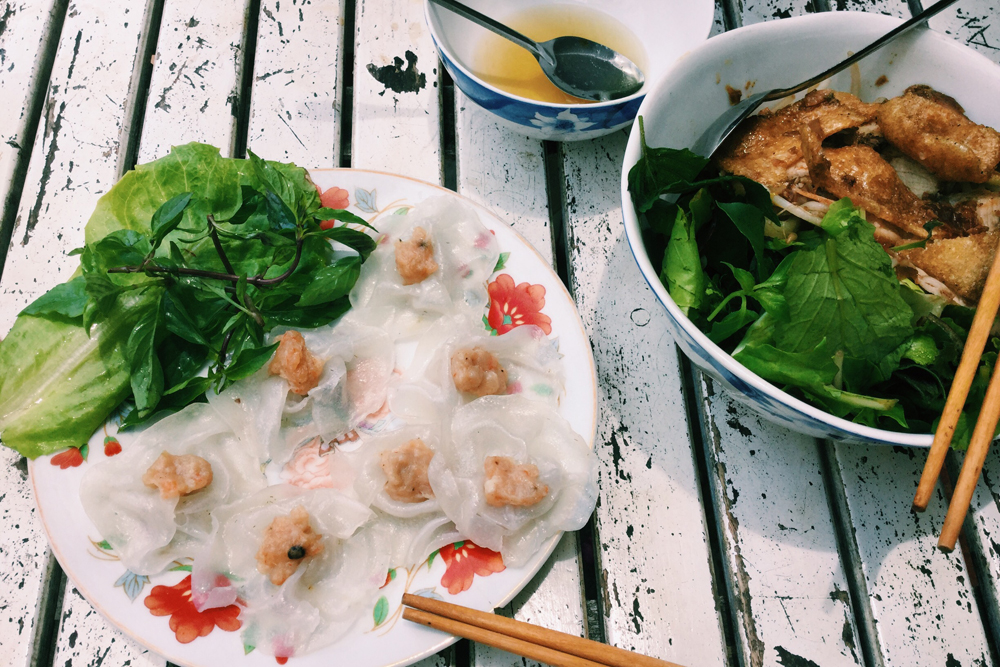 White Rose Dumpling in Hoi An